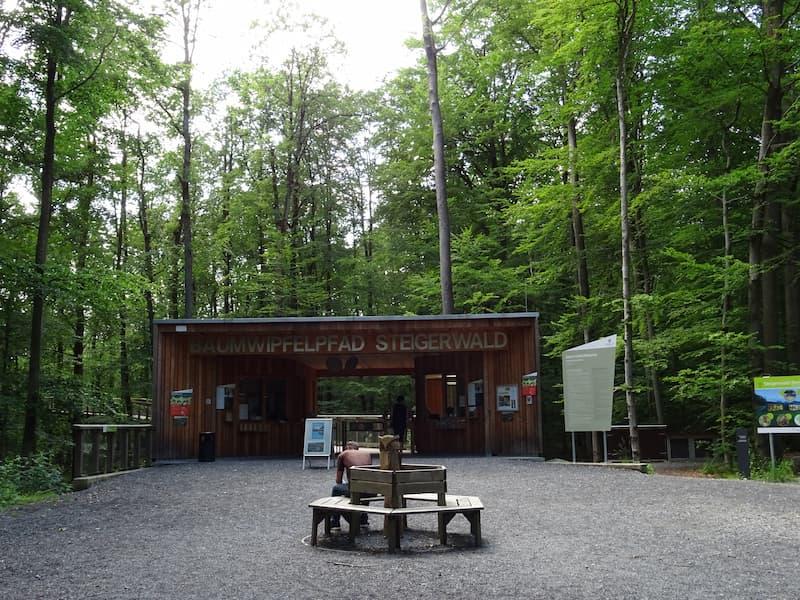 Baumwipfelpfad Steigerwald: Eingangsbereich