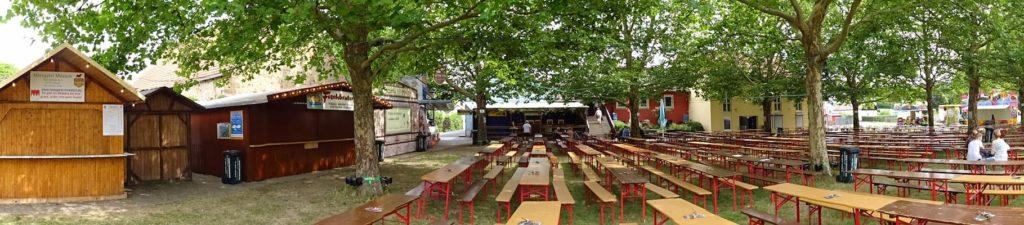 Ausflugsziele in Franken: Weinfest Obervolkach